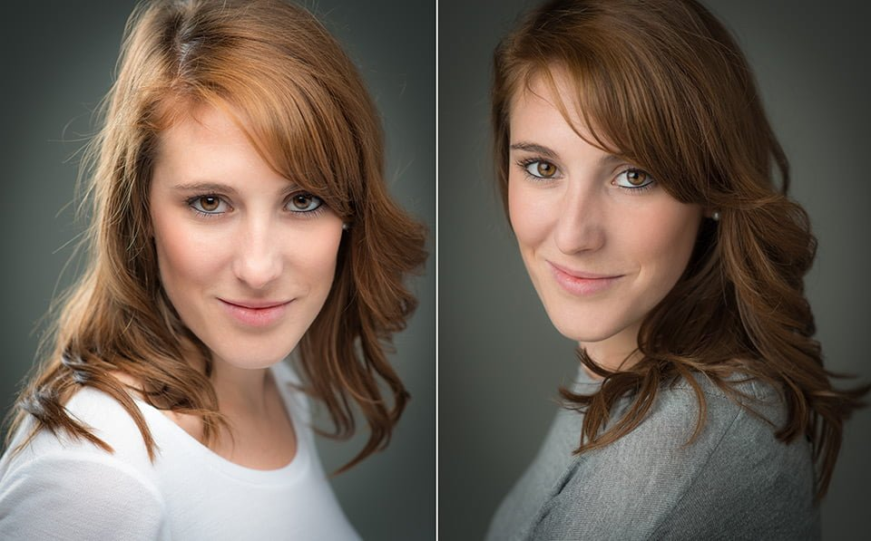 headshots portraits of dancer brighton