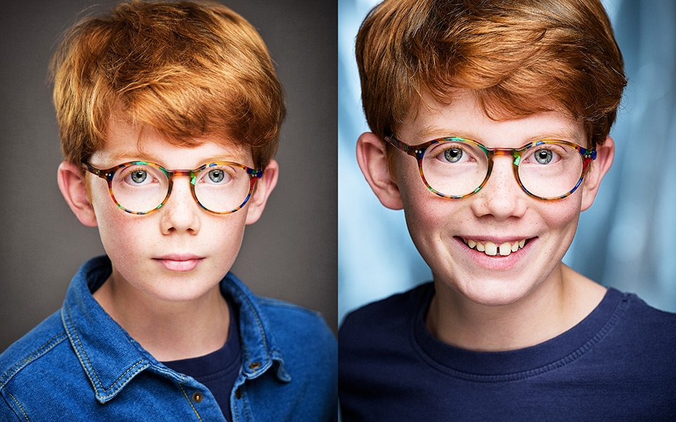 child actor headshots gsa brighton sussex