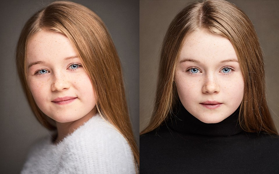best children's headshots photographers