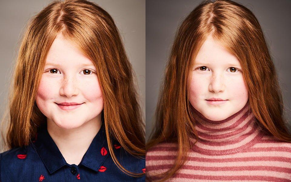 child headshot london brighton photography