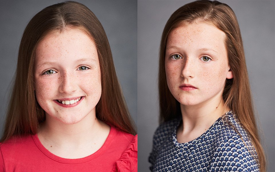 child actor headshots brighton london