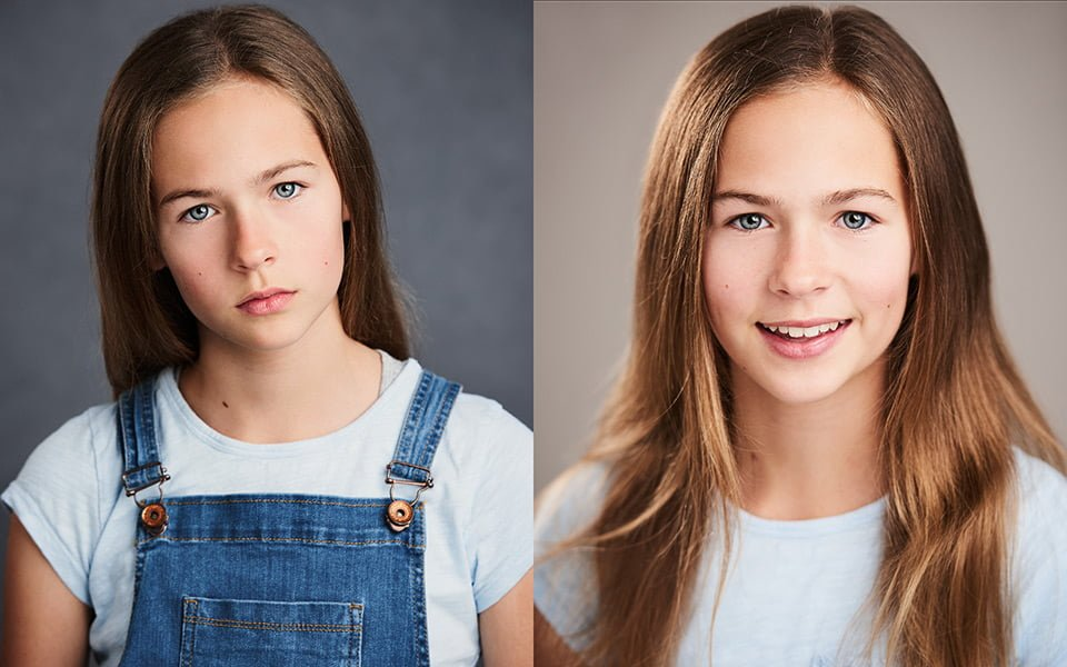 child actor portrait headshot brighton