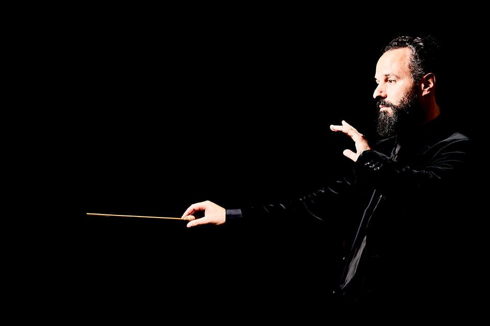 Joseph Wolff Conductor by Brighton Professional Photographer David Myers
