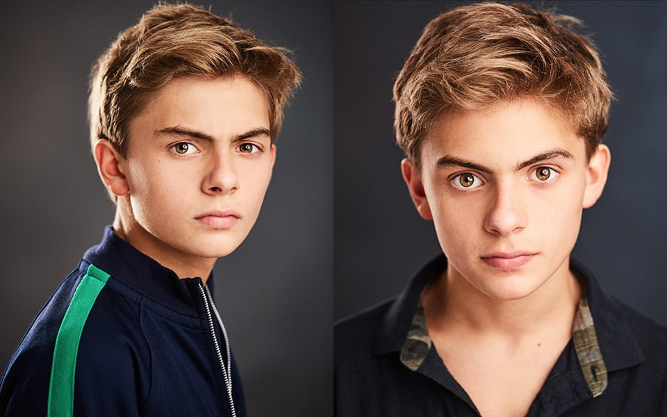 child actor headshot photographer london brighton
