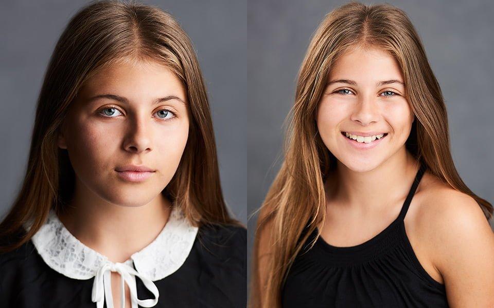 teenage actor headshots photographers brighton grace