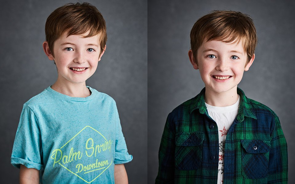 child headshots actor photographer sussex