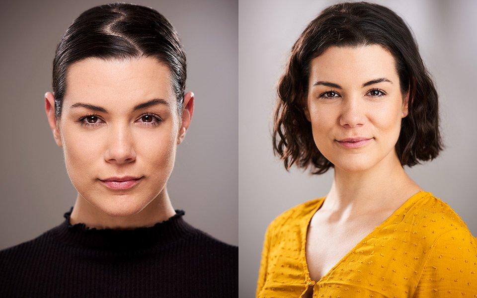 actress headshot brighton photography studio