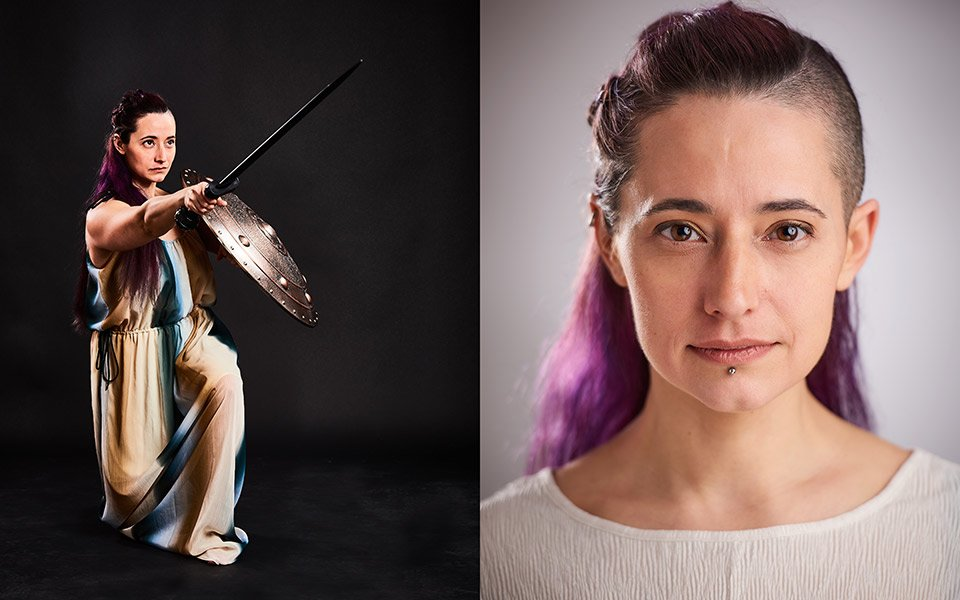 combat actor actress brighton london photography
