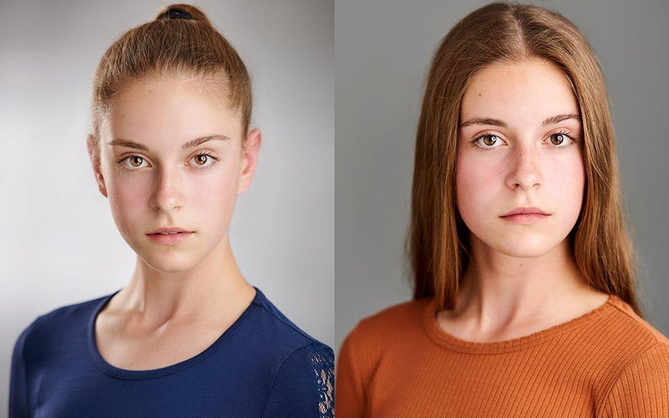 teenage actor headshots