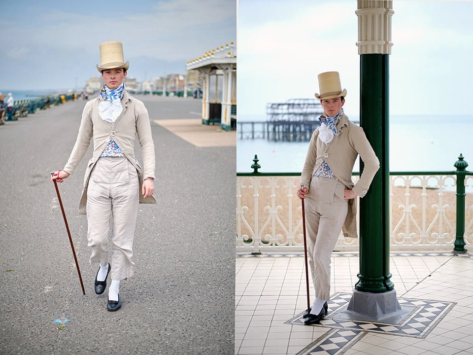 zack pinsent tailor brighton editorial photographer