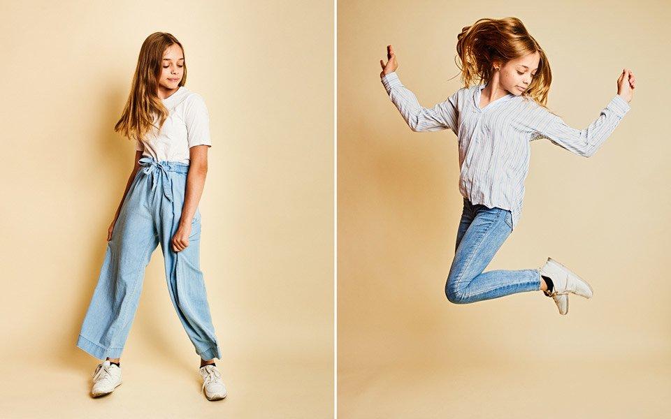 children model portfolio photoshoot brighton