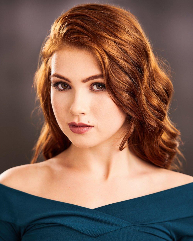 headshot of actress brighton